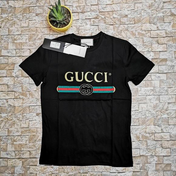 ba51c976a Gucci Shirts   Men Black Vintage Tee   Poshmark
